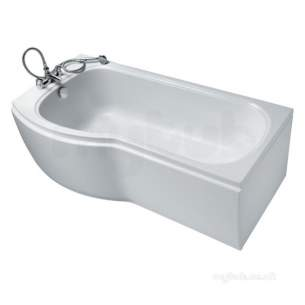 Ideal Standard Acrylic Baths -  Ideal Standard Alto E7646 1700 X 800mm Nth Lh If Plus Shower Bath