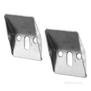 Ideal Standard E5010 Conc Wall Hanger Brackets Pair Stl