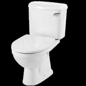 Twyford Mid Market Ware -  Twyford Refresh Re2641 Right Hand Lvr Cistern And Ftgs Wh Re2641wh