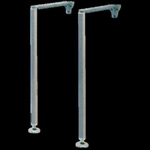 Twyfords Commercial Sanitaryware -  Legs And Stays Pair 685hx330l Sr3046xx