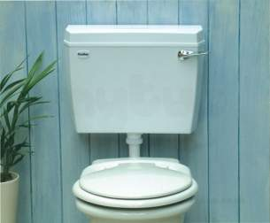 Thomas Dudley 314328 White Acclaim Cistern With Bottom Inlet Bottom Outlet