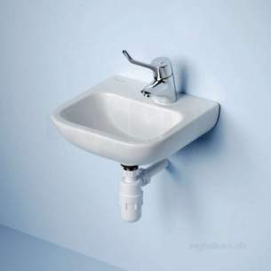 Armitage Shanks Commercial Sanitaryware -  Armitage Shanks Portman 21 Basin 40cm Nof Nchn 1rth Wh