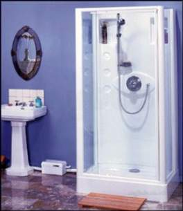 Saniflo Sanitary Systems -  Sanishower Small Bore Sanitary System
