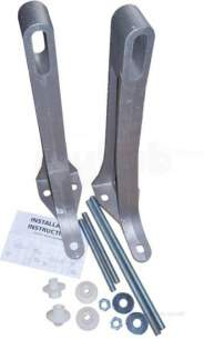 Armitage Shanks Commercial Sanitaryware -  Armitage Shanks Braemar/melrose S9200 Fixing Bracket Sc