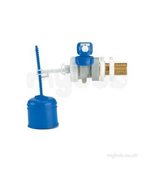 Thomas Dudley Inlet Valves -  Thomas Dudley 324299 Na Hydroflo Side Inlet Valve With Brass Tail