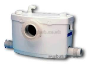 Saniflo Sanitary Systems -  Sanipro Small Bore Sanitary System
