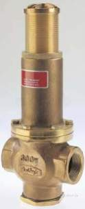 Bailey 470 and Th Pressure Reducing Valves -  Bailey Class Th Bsp Press Red Valve 40