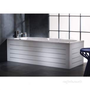 Roper Rhodes Bath Panels -  Linear Bp1601 700mm End Panel White