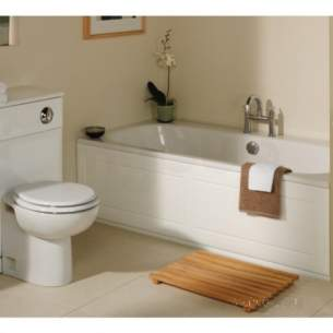 Roper Rhodes Bath Panels -  Valencia Bp603 1800mm Front Panel Hgh G/wh