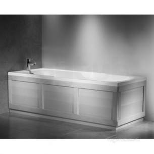 Roper Rhodes Bath Panels -  Bath Bp801 End Panel 700mm White