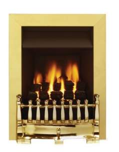 Valor Gas Fires and Wall Heaters -  Valor Blenheim C1 Fire Brass 0594151