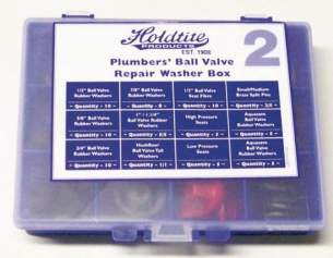 Miscellaneous Cistern Accessories -  New Plumbers Ballvalve Repair Kit Box