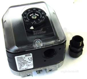 Kromschroder Uk Ltd -  Nu-way Krom Dg 50u-3 2.5-50mbar Auto Pressure Switch