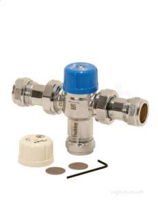 Intatec Commercial Products -  15mm Saracen Tmv2 Thermo Mixing Valve