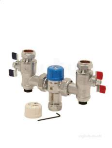 Intatec Commercial Products -  22mm Saracen Tmv2 Thermo Mixing Valve