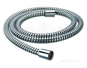 Center Shower Accessories -  Center-bore Pvc Hose 1.50 M 11 Mm Chrome Plated
