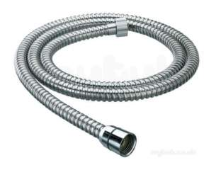 Center Shower Accessories -  Center Brand C04843 Gold Pvc 1.75 M Shower Hose With Conical Ends