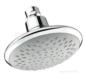 Center Shower Accessories -  Center Brand C04833 Chrome Fixed Shower Head 120mm