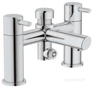 Grohe Tec Brassware -  Carolina 25019 3/4 Inch Two Tap Holes Basin Mixer Cp