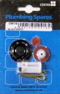 Own Brand Blister Packs -  Center Brand Udc/54/119 Na 13 Mm Ball Valve Repair Kit