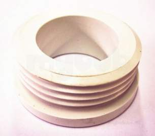 Own Brand Blister Packs -  Center Brand Udc/54/071 White Inlet Flush Pipe Connector 38 Mm Diameter