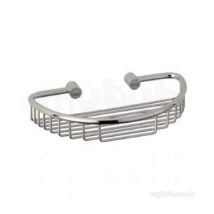 Roper Rhodes Accessories -  Sigma Large Soap Caddy Chrome Plated
