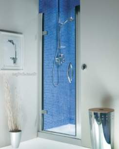 Roman Shower Enclosures -  Rom 900 Collage Hinged Door Slv Cl913s