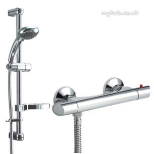 Deva Brassware -  Deva Complete Combi Thermo Shower Set