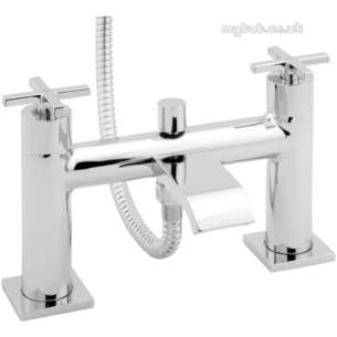 Deva Brassware -  Deva Crux106 Bath Shower Mixer Cp