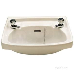 Twyfords Bs Whiteware Products -  Classic Washbasin 560x415 2 Tap Cc4212wh
