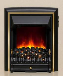 Be Modern Fires Gas and Electric -  Be Modern Bm Comet Electric Fire Black