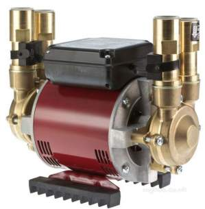 Watermill Shower Pumps -  Grundfos Amazon 2.0 Bar Brass Twin Impeller Pump