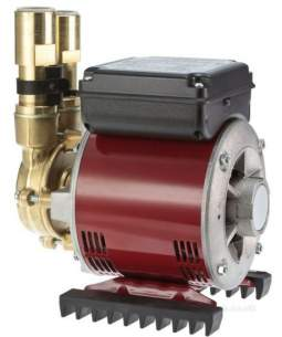 Watermill Shower Pumps -  Grundfos Amazon 2.0 Bar Brass Single Impeller Pump