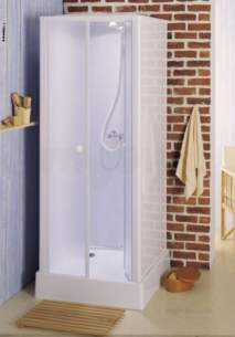 Saniflo Kinedo Shower Cubicles -  Kinedo Consort 810 X 810 Shower Cubicle