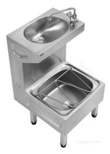 Sissons Stainless Steel Products -  G20050n Centinel Janitorial Unit Ss