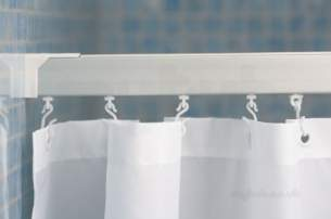 Croydex Shower Curtains and Rails -  Croydex Specrailc Ceiling Support