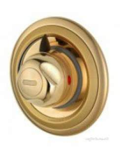 Aqualisa Showers -  Aqualisa Aquavalve C609.04t Thermo Valve Gold Plated