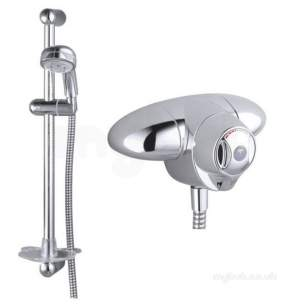 Armitage Shanks A3101aa Chrome Trevi Ctv Thermostatic Shower Valve