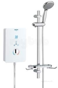 Bristan Electric Showers -  Bristan Bliss 9.5kw White Bl95 W