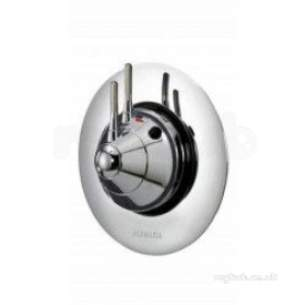 Aqualisa Showers -  Aqualisa Ax3100 Chrome Axis Thermo Concealed Thermostatic Shower Valve