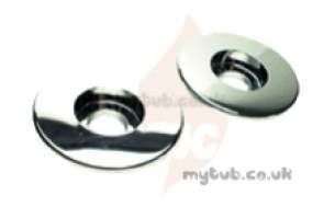 Mira Commercial and Domestic Spares -  Mira 88 090.95 Pipe Concealed Plate Chrome Plated