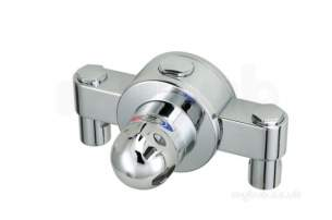Rada And Meynell Commercial Showers -  Rada 523.03 425t3c Group Control Valve Chrome Plated
