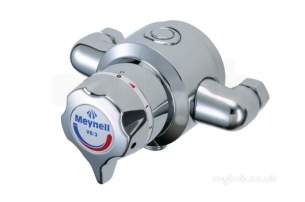 Rada And Meynell Commercial Showers -  Meynell V8/3 B Recessed Thermo Mixer