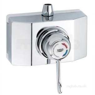 Gummers Commercial Showers -  Sirrus Shrouded New Type Lever Thermo Ch