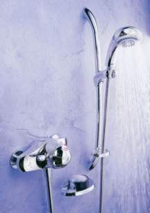 Mira Showers -  New Mira Excel Ev Therm Shower Mixer And Kit Cp