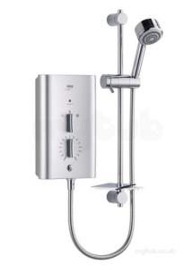 Mira Showers -  Mira Escape Thermostatic Shower 9.8 Kw Chrome