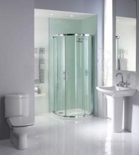 Showerlux Glide Enclosures -  Glide Maxi Twin Slider And Rsd Tray Ps