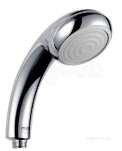 Mira Showers -  Mira 2.1616.031 Chrome Everclear One Spray Hand Shower For Electric Showers Over 9 Kw