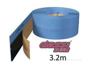 Classi Seal Flex Self Adhesive Upstands -  Seal 3.2 M Flexible Self Adhesive Waterproof Upstand Bath And Shower Trays