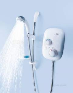Mira Showers -  Mira Event Xs Manual Power Shower White